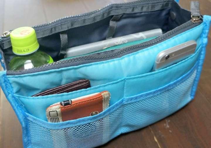 カバンのゴチャゴチャはZatousのバッグインバッグで解決しよう!【文具のツボ】
