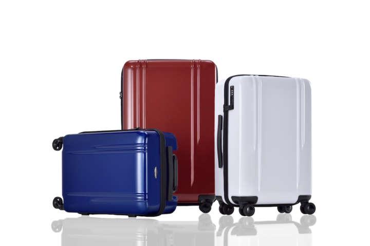 仕事や旅のスタイルはスーツケースのカラバリで主張する