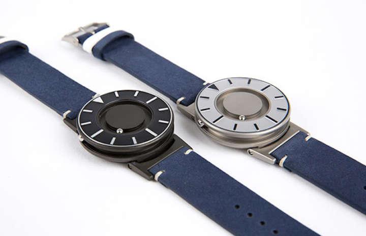 """""""触覚""""で時間を知る時計が実用的でオシャレです!"""