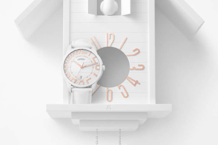 腕時計が壁掛けにもなる!その発想がオシャレです