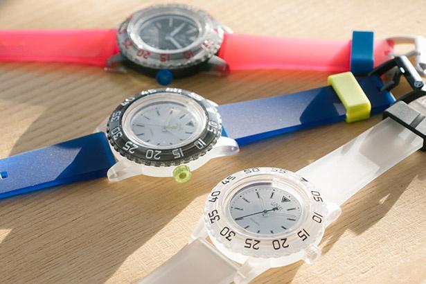 光充電&20気圧防水でアクティブかつポップに腕時計を楽しむ!