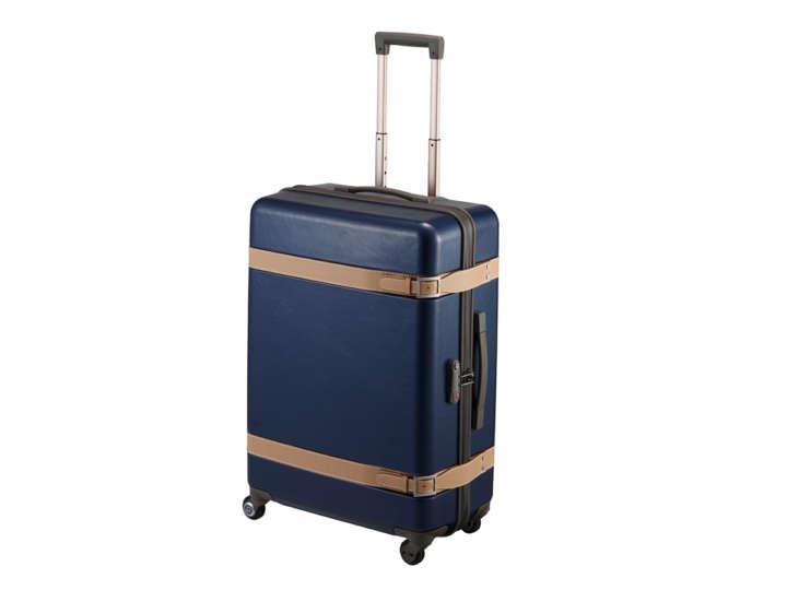 ハンドルも錠前もキャスターも自分好みなスーツケースが作れます