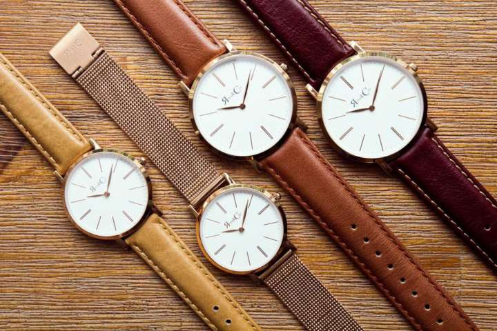 この時計美しい!そして何より薄い!!