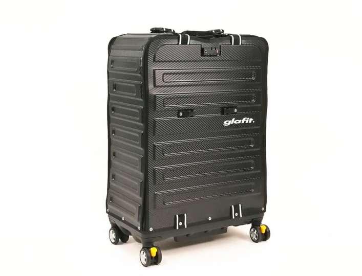 スーツケースとしても使えるglafitバイク輪行ケース