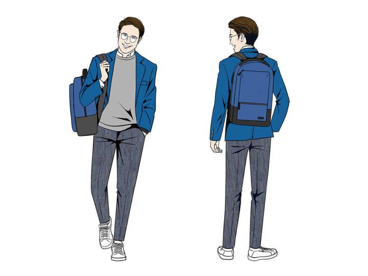 """最新ビジネスファッションを取り入れ""""コギレーマン""""に変身【ジャケパン編】"""