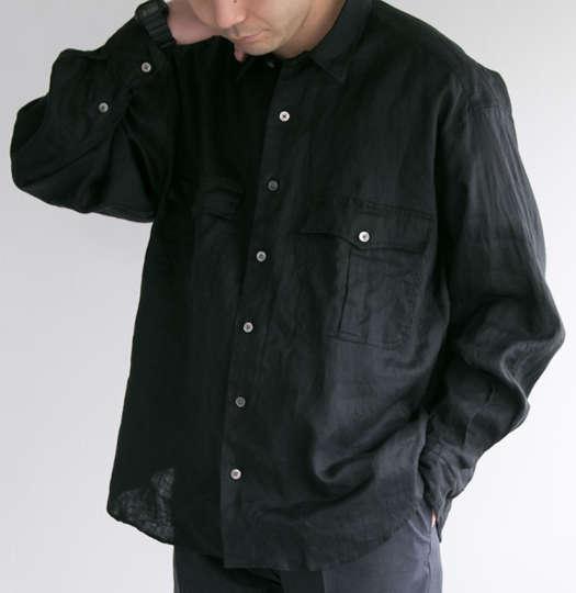 暑い季節はサラッとね!PORTER CLASSICの定番シャツに別注アイリッシュリネン版が登場!
