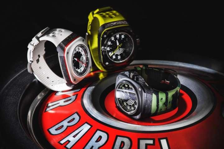 ぽくないけど、この時計、実は機械式でスイス発!