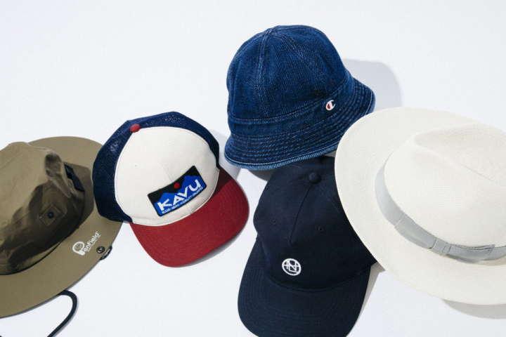 ファッションのアクセントにも暑さ対策にもなるオシャレな帽子5選【夏小物特集④】