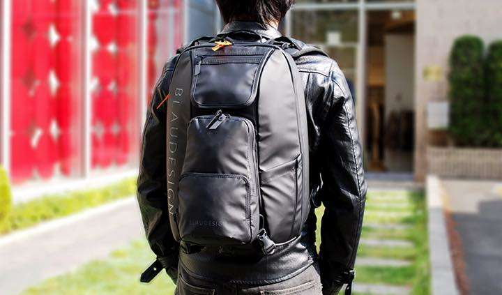 荷物の量に合わせてバッグのカタチを変えちゃおう!