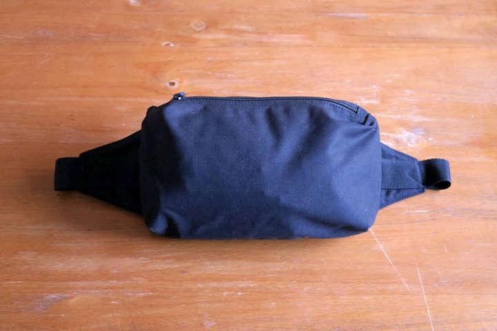 ユニクロで見つけたこのバッグ、休日にちょうどいいサイズでした