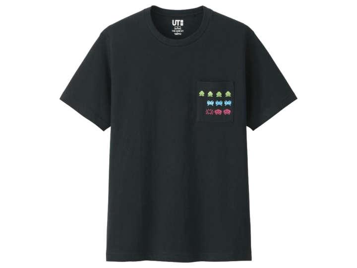 ドット画最高!40周年スペースインベーダーTシャツがユニクロに登場するぞ!