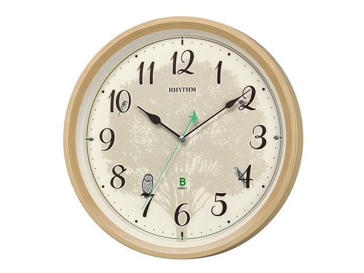 """毎時00分に野鳥の声が!野鳥の会と共同開発した現代版""""鳩時計"""""""