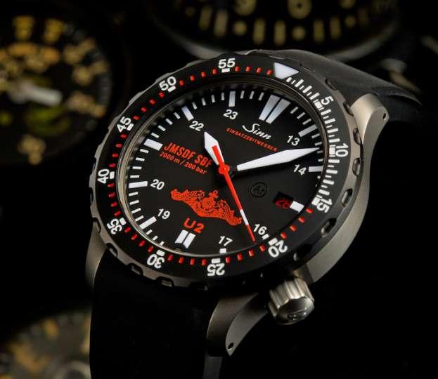 ドイツブランドの手による海自潜水艦隊向け機械式ダイバーズ