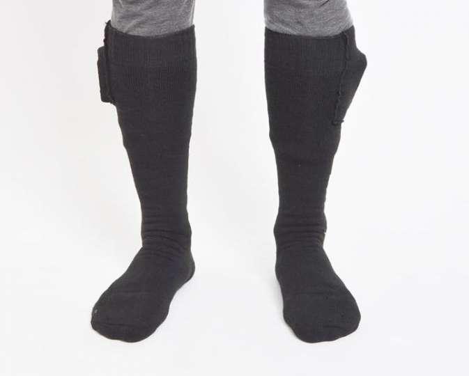 足元が寒い?それならヒーター付きの靴下で対策を