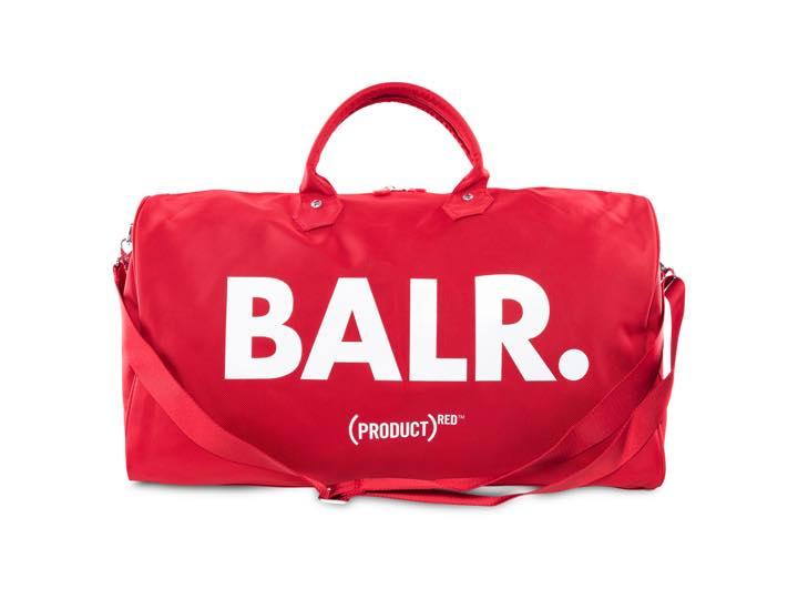 サッカーファッションブランドBALR.のPRODUCT(RED)コラボに注目!