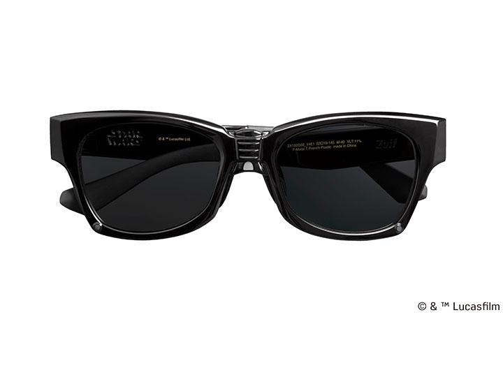 このサングラス、かけただけでダース・ベイダーになれそうだ!