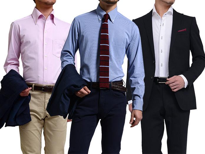 汗ばんでもOKな透けないワイシャツはビジネスマンの味方です!
