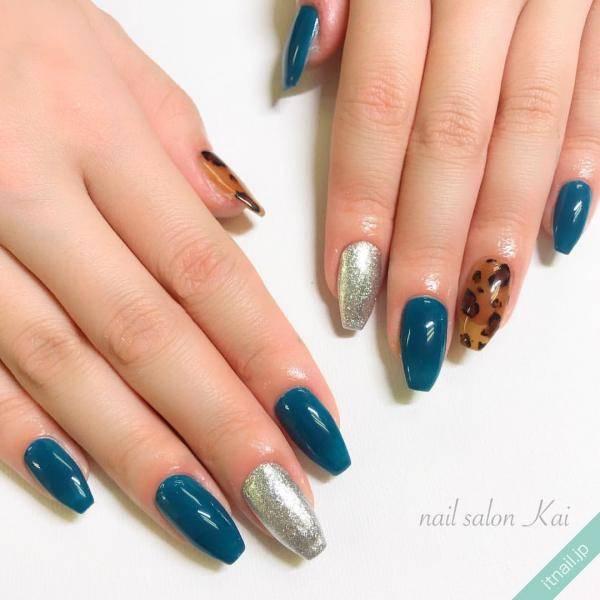 今年の秋冬シンプルネイルは「ブルージュ」に注目!人気のくすみカラーを新鮮に楽しもう♡