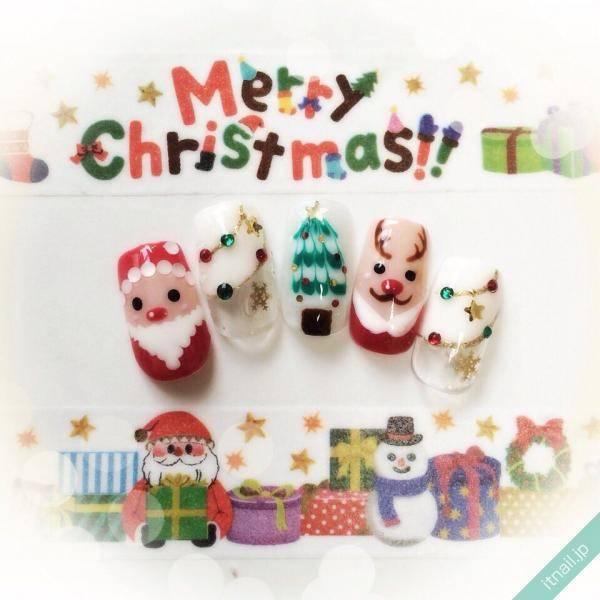 クリスマスネイルの定番&人気デザインまとめ♪
