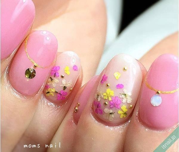 癒される出会い♡春のお花アートネイル大特集