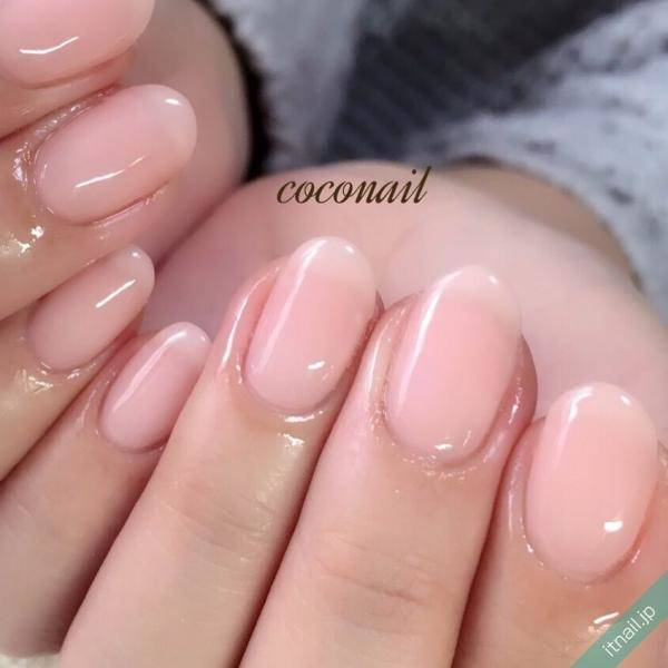 自爪の良さを生かして美しさを引き出す♪清楚かわいい素爪ネイル