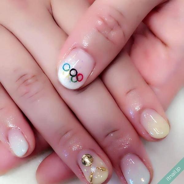 五輪ネイルで平昌オリンピック観戦を盛り上げよう!