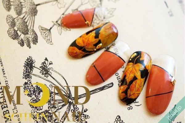 この季節にぴったり!色づく紅葉をアートしたネイルデザイン特集