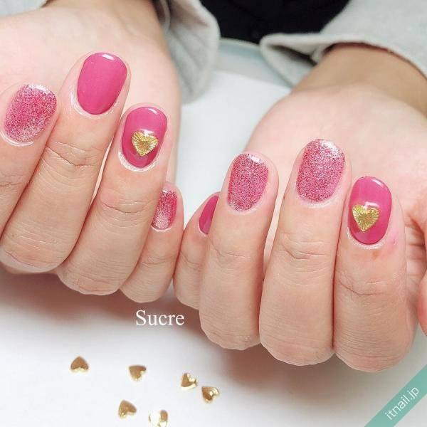 ピンクのショートネイル最強説♡いますぐしたいデザイン厳選!