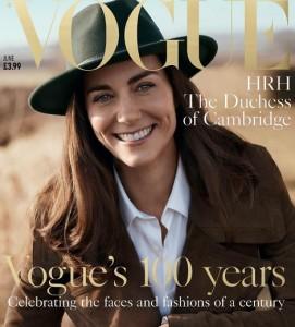 【セレブのウワサから注目ショットまで♪】 キャサリン妃、英誌『VOGUE』の表紙飾る