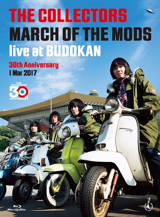"Blu-ray『THE COLLECTORS live at BUDOKAN "" MARCH OF THE MODS ""30th anniversary 1 Mar 2017』【Blu-ray+CD】 (okmusic UP's)"