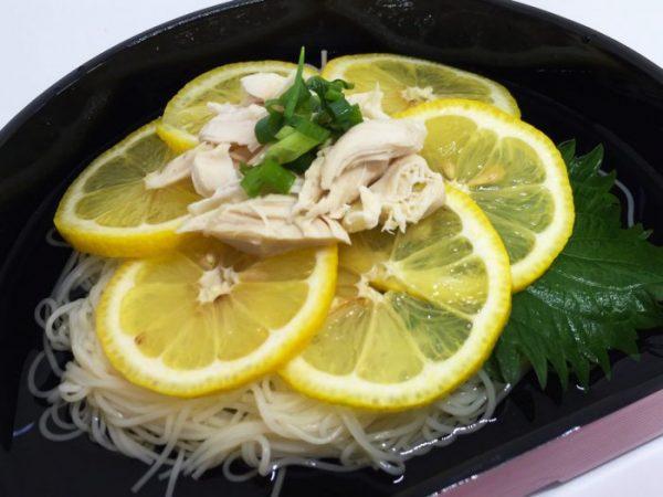 レモン素麺