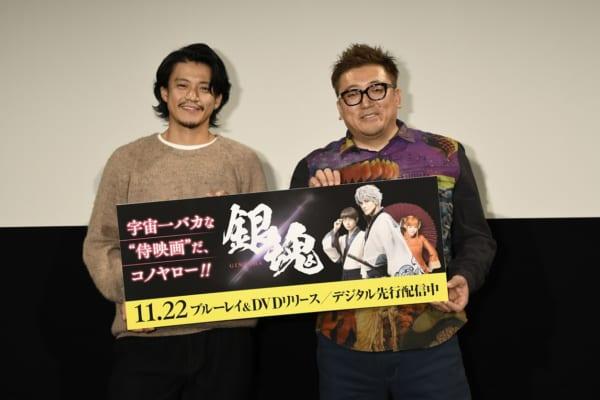 (C)空知英秋/集英社 (C)2017 映画「銀魂」製作委員会