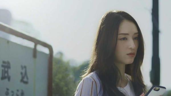 迷い顔の栗山千明さん