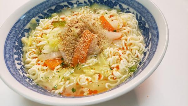 野菜たっぷりタンメン/画像提供:リュウジさん