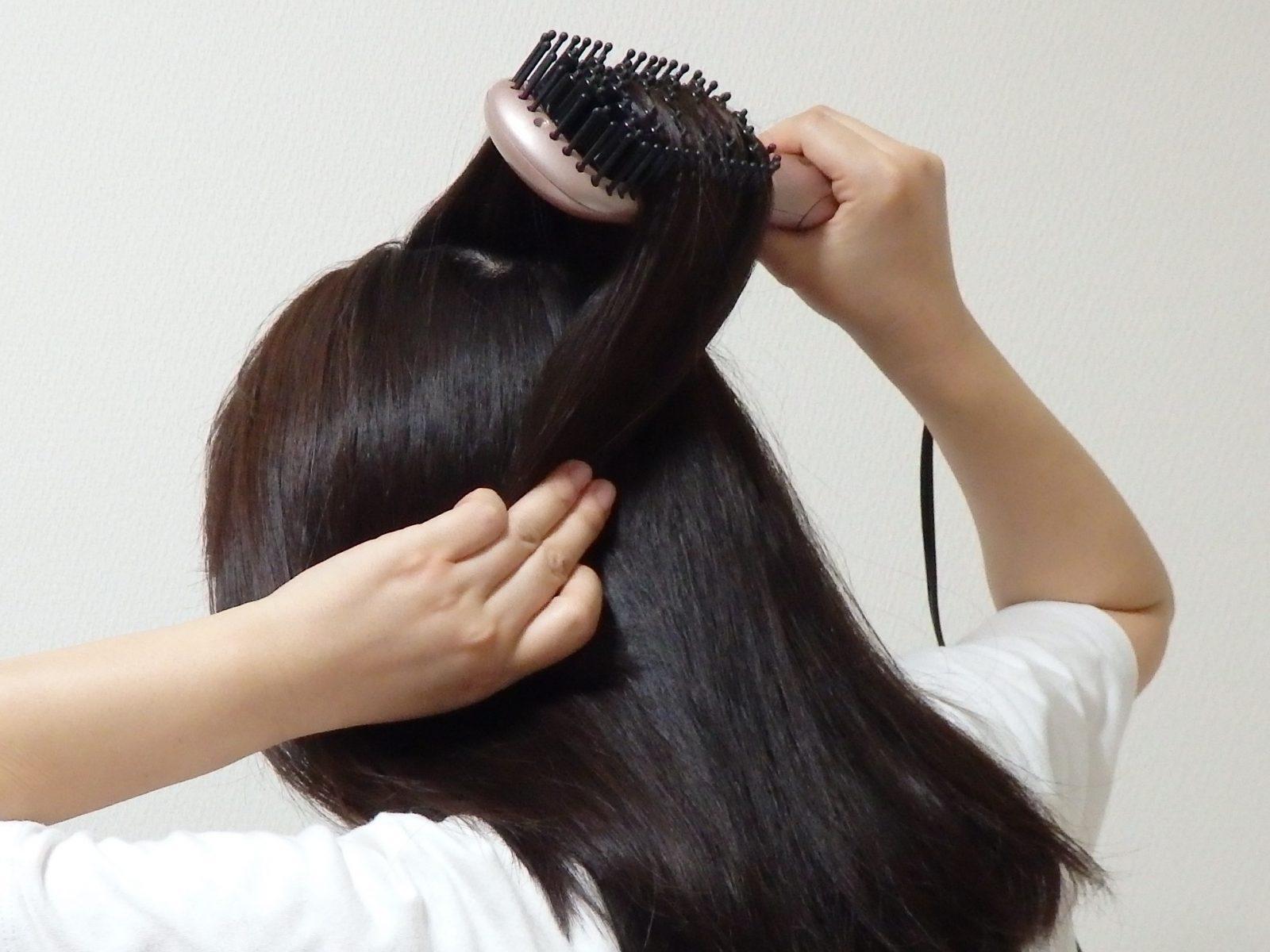 【ガチ検証】40代の髪トラブルは「ブラシ型アイロン」でどのくらい解決できた?