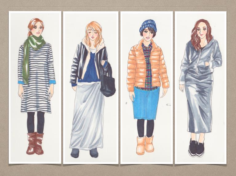 【これはヤバい】40代女性がこの冬着てたら痛いファッション8選