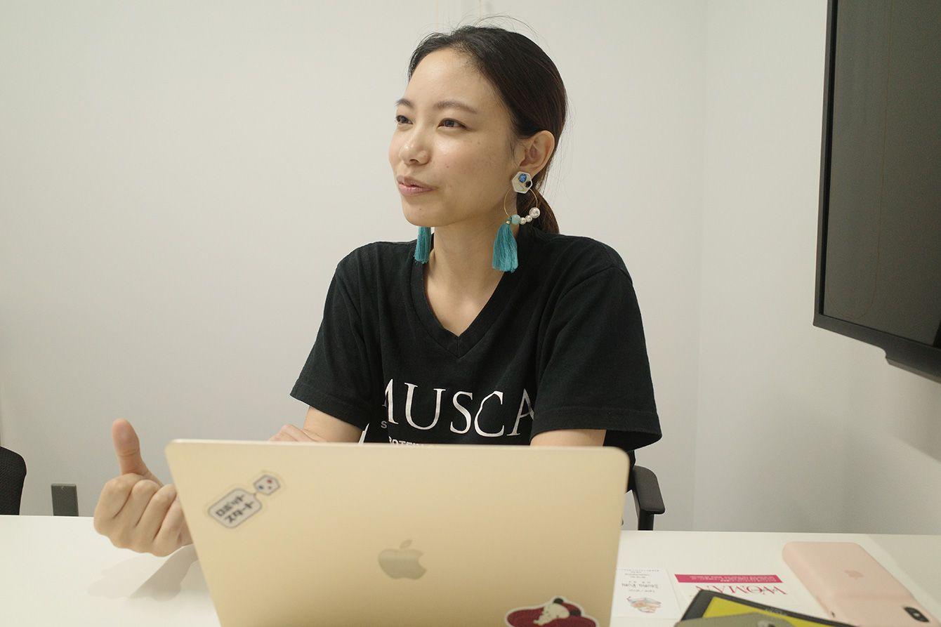 ムスカ代表取締役CEO 流郷綾乃さん
