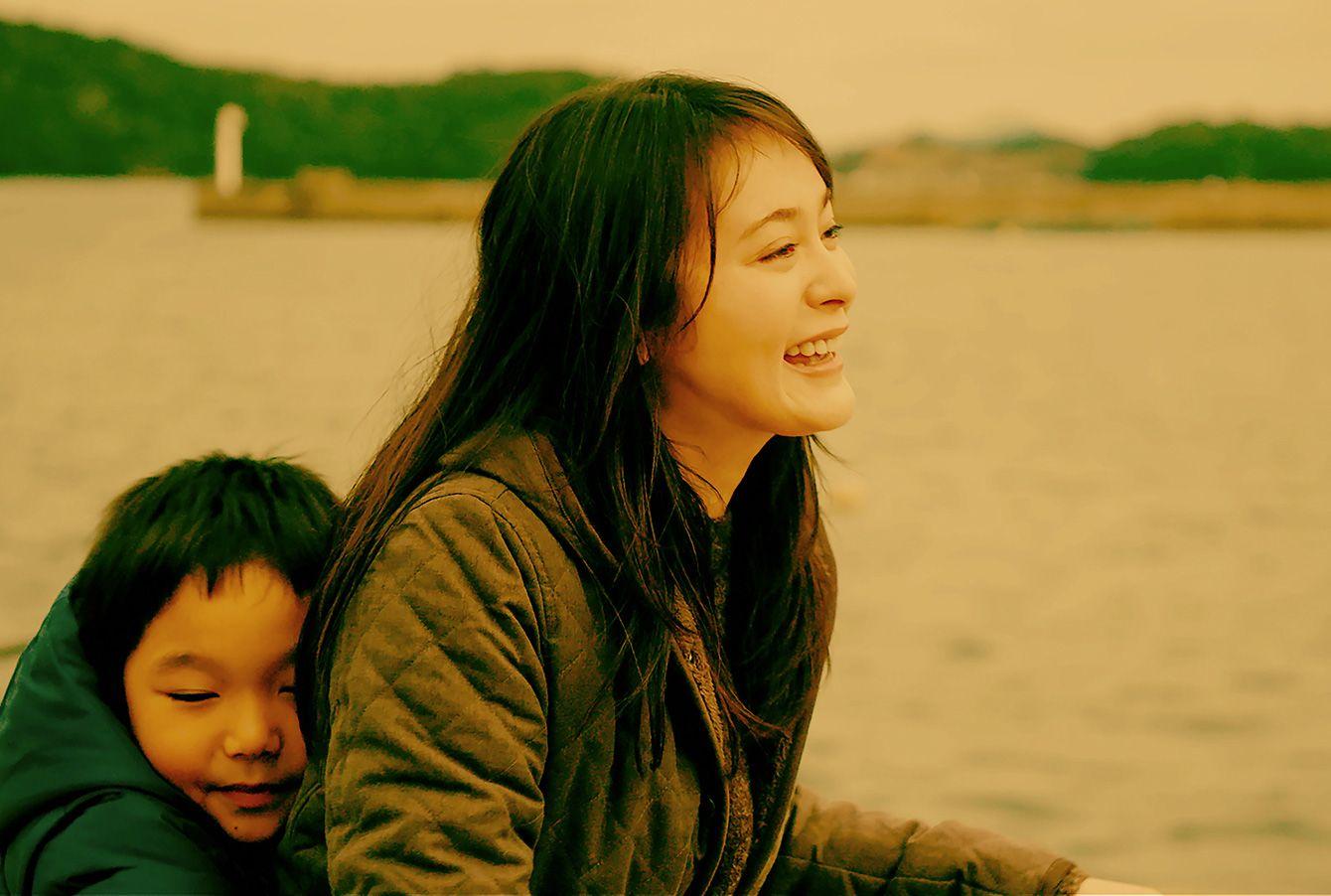 映画「夕陽のあと」監督:越川道夫 出演:貫地谷しほり、山田真歩、木内みどりほか - 写真=筆者提供
