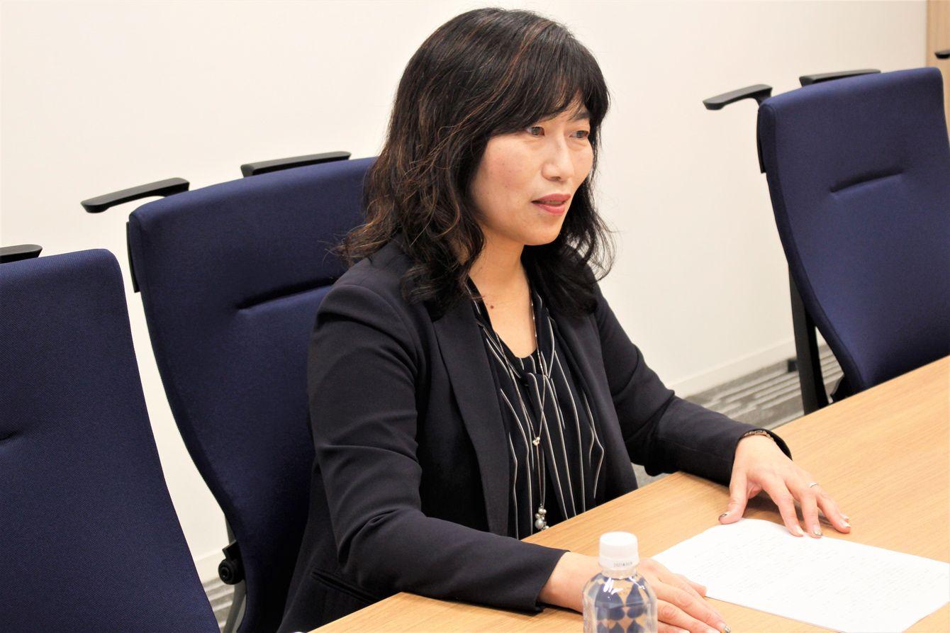 住友商事の輸送機・建機業務部 人事チーム長 本山ふじかさん