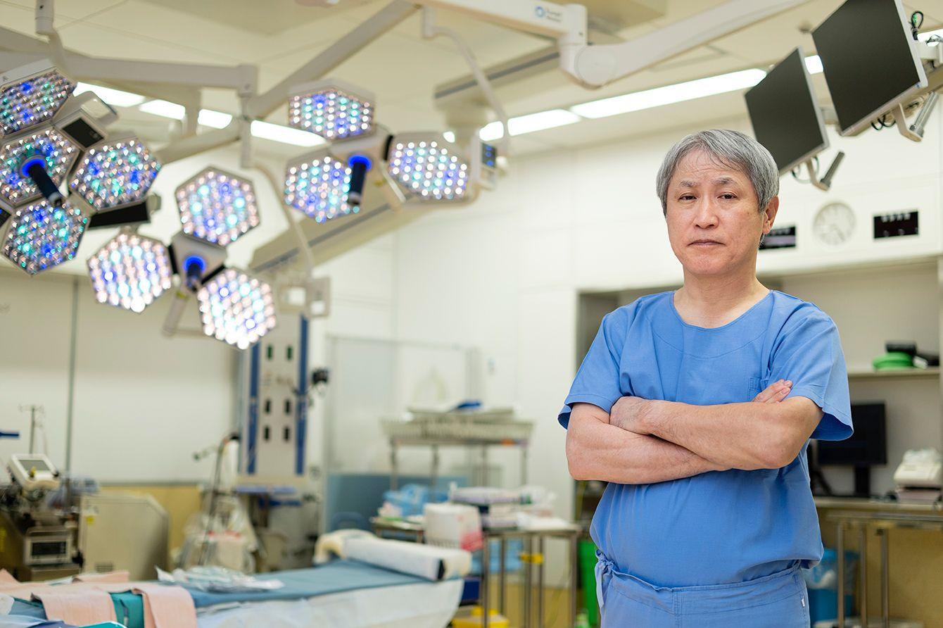 「神の手」と呼ばれた心臓外科医