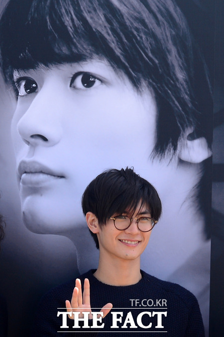 俳優の三浦春馬が初めて釜山国際映画祭に参席した。