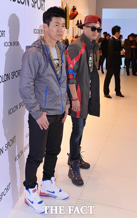 [Photo] Jinusean、アウトドアファッションもヒップホップテイストに