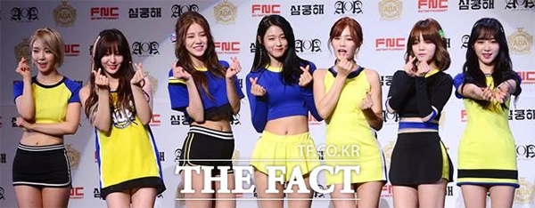 韓国陸軍兵士が一番好きなガールズグループにAOAが選ばれた。|THE FACT DB