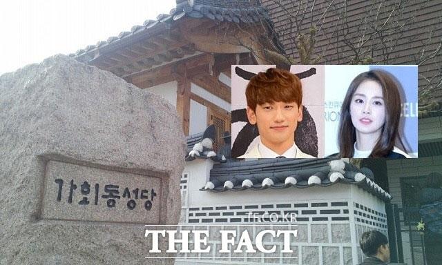 내용歌手兼俳優RAINと女優キム・テヒが19日午後2時、ソウル・鍾路区の嘉会洞(カフェドン)聖堂で結婚式を挙げる。|キム・ギョンミン記者