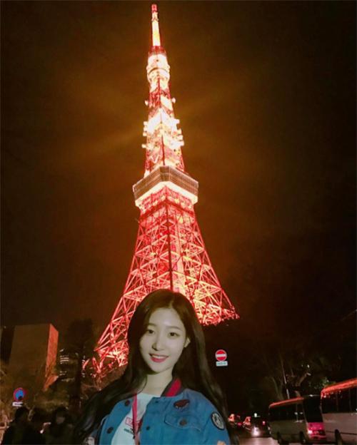 写真:チェヨンのインスタグラム