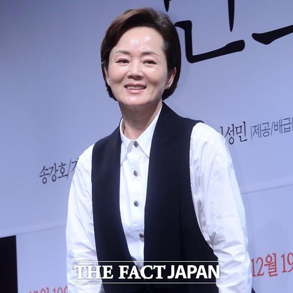 女優キム・ヨンエさん。|THE FACT DB