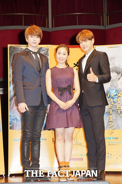 左からSE7EN、キム・ボギョン、超新星のソンジェ。|(C)Tomoko Nozaki