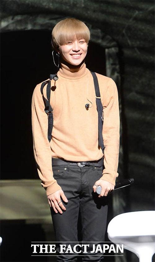 SHINeeのテミンが初の日本ソロコンサートを開催する。