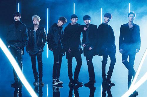 (左から)ヒョンウォン、ウォノ、キヒョン、ジュホン、アイエム、ミニョク、ショヌ