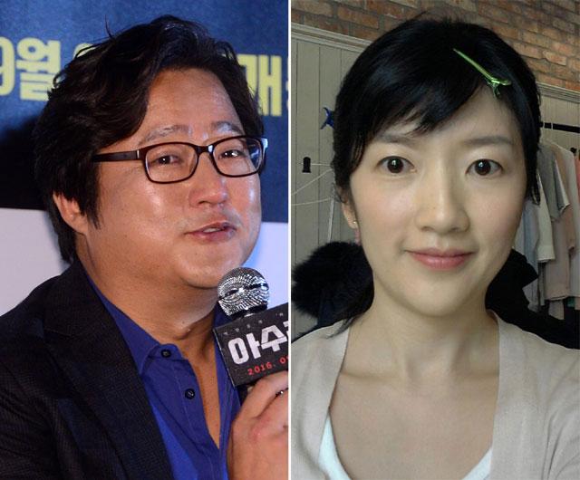 クァク・ドウォン(左)とチャン・ソヨンが破局した。|THE FACT DB、チャン・ソヨンのフェイスブック
